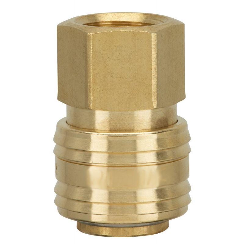 Druckluftkupplung Schnellsteckkupplung Stecknippel Pneumatik Kupplung Schlauch[Stecker/Nippel mit Innengewinde,G 1/2